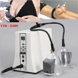 Buttocks Lifter Cup Vacuum Therapy Machine Breast Enlargement Cellulite Massager