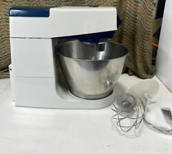 Vintage Kenwood Chef Stand Mixer W/ 2 Attachments Model A702 Works Great
