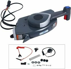 Boat Motor Side Mount Remote Control Box For Johnson Evinrude Outboard Engine