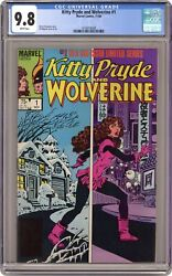 Kitty Pryde And Wolverine 1 Cgc 9.8 1984 1618418008