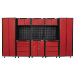 American Pro 3.3m Storage System - Sealey Apms80combo1 New