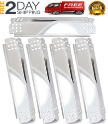Free 2day Shipping Stainless Steel Grill Heat Plates Shield Tent, Burner Cover,