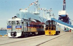 Maryland Port Authority Dundalk Terminal Open House, Budd Rdc-2 And Sw-1200 Diesel