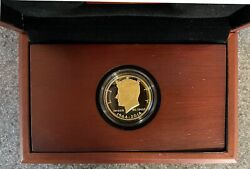 2014 Kennedy 50th Anniversary Gold Half Dollar Proof Coin .75 Oz Gold