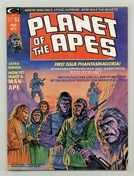 Planet Of The Apes Magazine 1 Fn 6.0 1974 Marvel