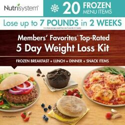 5 Day Weight Loss Frozen Kit Diet Breakfast Lunch Dinner Snack Meals Pack 20 Ct.