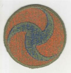 Reversed Prop Ww 2 Us Army Air Force Ghq Od Border Greenback Patch Inv R779