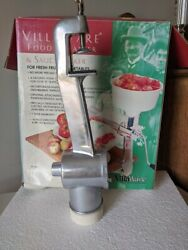 Victorio Food Strainer And Sauce Maker Body And Clasp Assembly Villaware 200 Part