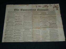 1828 May 6 The Connecticut Courant Newspaper - Hartford - Np 4177