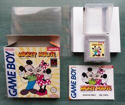 Nintendo Gameboy Mickey Mouse Fah Complet Original Mint