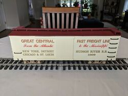 G Scale Great Central Fast Freight Line 1009 Box Car Excellent