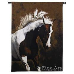 63x53 BELLA IV HORSE Western Tapestry Wall Hanging