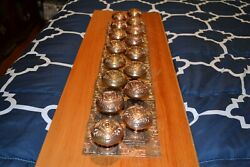 8 Sets Antique Victorian Eastlake Door Knobs And Face Plates Cast Brass  0002