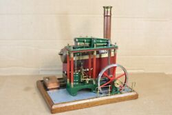 Live Steam Kit Built Fine Scale Bolier And Beam Engine Ns