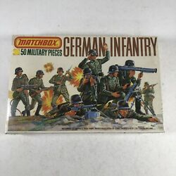 Matchbox German Infantry P-5003 1/76 Scale Soldiers Ww2 Wwii Army 176 Sealed