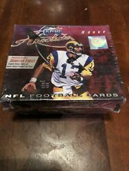 2000 Playoff Absolute Football Hobby Box Factory Sealed Brady Rookie Year Nice