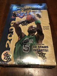 2009-10 Upper Deck Hobby Factory Sealed Basketball Box Curry Rc 16/20 Ct