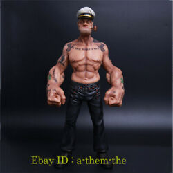 Head Play Popeye 1/6 Scale Painted Resin Figurine Headplay 12and039and039 Action Figure Gk