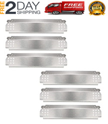 New Grill Parts Heat Plates For Nexgrill 6 Burner Stainless Steel Heat Shield Te