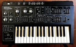 Roland Sh-1 Vintage Monophonic Synthesizer 1978 Excellent Energized Collectible