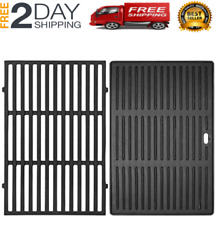 Cast Iron Grill Cooking Grates 2-pack 17.5 For Weber Spirit 300/310/320 Series