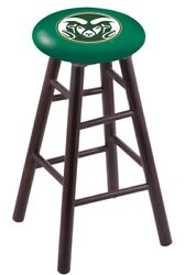 Holland Bar Stool Co. Maple Counter Stool In Dark Cherry Finish With Colorado...