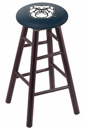 Holland Bar Stool Co. Maple Counter Stool In Dark Cherry Finish With Butler U...