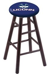 Holland Bar Stool Co. Maple Counter Stool In Dark Cherry Finish With Connecti...