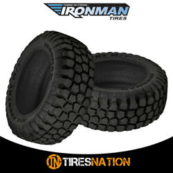 2 New Ironman All Country M/t 235/80/17 120/117q Mud Terrain Tire