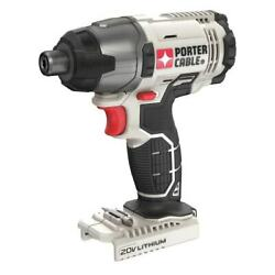 Porter-cable Pcc641 20v Max 20-volt 1/4-inch Cordless Impact Driver Tool Only