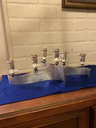 Two Candle Holders / Royal Hickman / Silverplate- Gorgeous