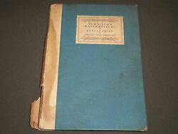 1922 Furniture Masterpieces Of Duncan Phyfe By Charles Over Cornelius - Kd 1174