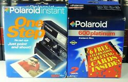 Polaroid One Step 600 Instant Film Camera Brand In Box New W/film Ships Quickly