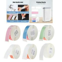 5 Pack Portable Thermal Label Printer Scratch-resistant Pure Color Sticker