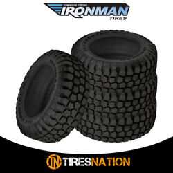 4 New Ironman All Country M/t 235/80/17 120/117q Mud Terrain Tire