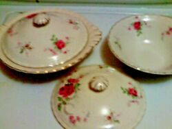 J And G Meakin 1851-1951 Centenary Reg. Sol 391413 Covered Server And Bowl Set