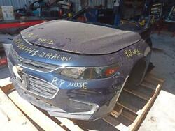 Front Clip Fits 16-18 Malibu With Park Assist Opt Ud5 8189667