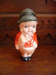Vintage Candy Store Advertising Celluloid Toy Doll Rattle Gillen Chocolates