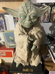 Star Wars - Illusive Concepts Hand Painted Life Sized Yoda - Mario Chiodo 🔥🔥