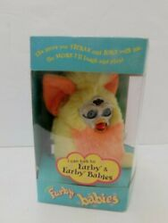 Furby Babies Yellow And Orange Mib Tiger Electronics 1999 Never Opened