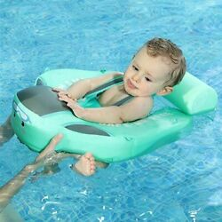 Baby Non-inflatable Floater Pool Toys Infant Swim Lying Swimming Ring Swimmers