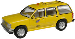 Atlas Ho Scale 1993 Ford Explorer Assembled Chicago And North Western/cnw