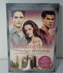 The Twilight Saga Breaking Dawn Part 1 New Dvd 2 Disc Set Special Edition