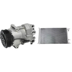 A/c Compressor And A/c Condenser Kit For 2012-2013 Chevrolet Cruze