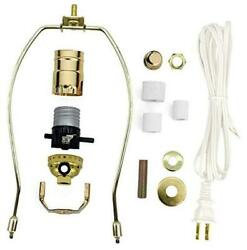 Lamp Kit For Liquor Bottles Wine Bottles - Includes All Adapters And Parts -