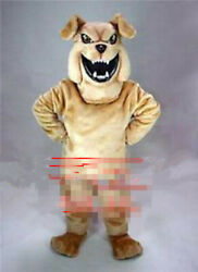 Bulldog Mascot Costume Suit Cosplay Party Game Dress Outfit Halloween Adult