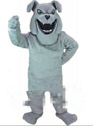 Bulldog Mascot Costume Suit Cosplay Party Game Dress Outfit Halloween Adult 2020