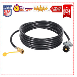 24 Ft Propane Hose With Regulator -3/8 Quick Connect Disconnect Heater Big Buddy