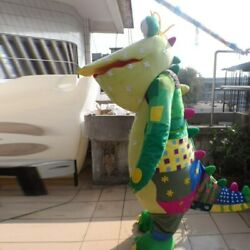 Big Crocodile Mascot Costume Party Game Christmas Easter Adults Dress Outfits Us