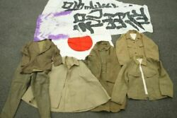 Military Japan Imperial Cloth Old Japanese Army Uniform Fs From Japan 8set